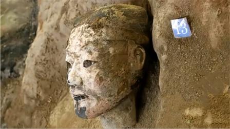 兵马俑里有张诡异的脸,连专家也难以解释,如今被禁止出国展览!