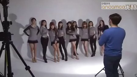 Nine Muses 《Dolls》BTS画报拍摄