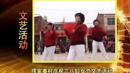 雁塔区缪家寨村2009年庆三八文艺演出
