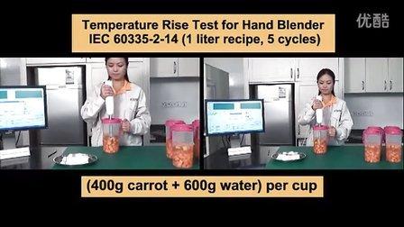 德昌电机推出手提式搅拌机用直流电机 (温升测试影片)