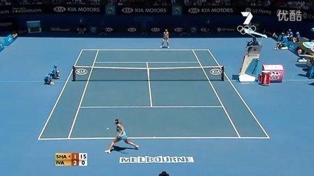 2008澳大利亚网球公开赛女单决赛 莎拉波娃VS伊万诺维奇 (自制HL)