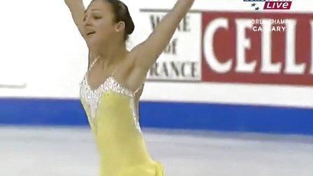 Sarah Meier 2006 World Championships SP
