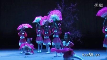 幼儿舞蹈:春晓(扇子舞)