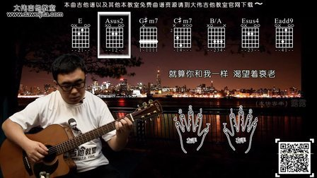 《董小姐》宋冬野 吉他弹唱教学 大伟吉他