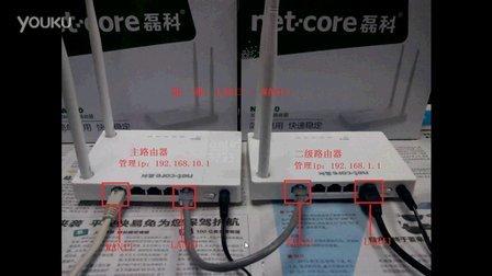 磊科NW710无线路由器二级路由设置视频教程