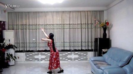 游弋广场舞青藏女孩背面演示103