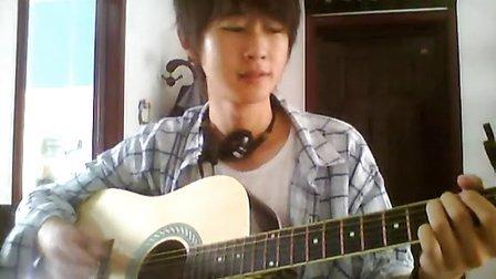 粉嫩可爱男生吉他原创《幻想狂》