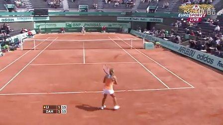 2011法国网球公开赛女单R1 李娜VS斯特里科娃 (自制HL)
