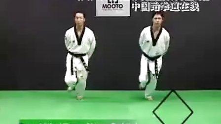 【侯韧杰  TKD  教学篇】之绝杀乔师范4