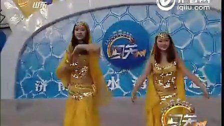 印度舞与儿歌相结合 可爱至极【山东卫视·闯关上梁山】冬季赛道2012-01-8