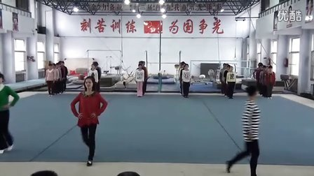 新泰市首届幼儿基本体操教师培训班-表演考核
