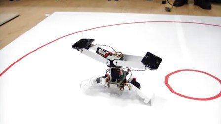 2011中国机器人大赛双足竞步自由体操第1集