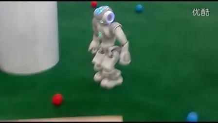 足球场Nao机器人大显身手