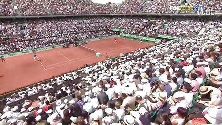 2011法国网球公开赛男单决赛 费德勒VS纳达尔