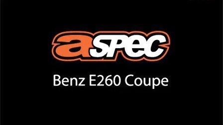 奔驰E260 Coupe改A Spec排气