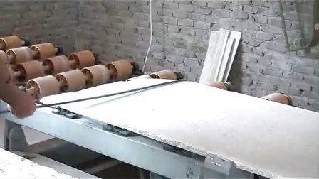 全自动花岗岩条板抛光机(和盛石材机械)