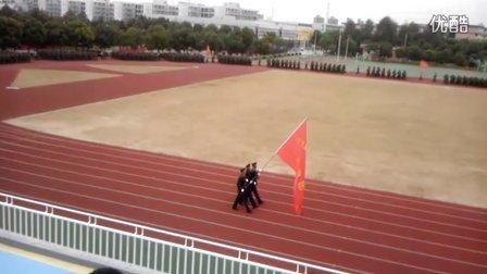 宁波城市职业技术学院军训 阅兵  正式