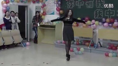 【少数民族黑丝美女老师】民族舞表演