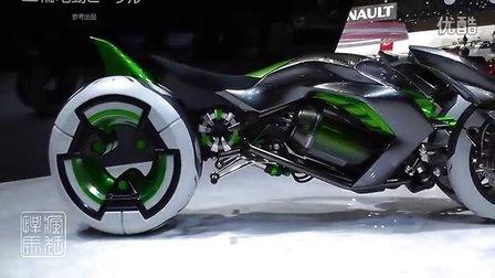 2013年 东京汽车展:川崎概念摩托车J Vehicle
