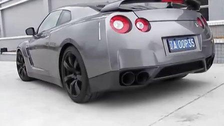 GTR-R35改A Spec排氣