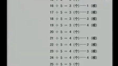 有余数的除法三年级上贵州罗娟 2全国第八届深化小学数学教学改革观摩交流会教学课例