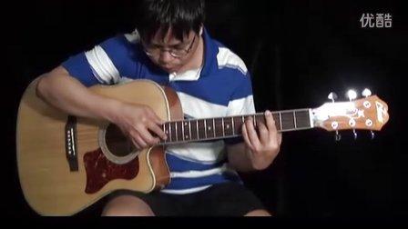 外婆的澎湖湾   阿涛吉他独奏