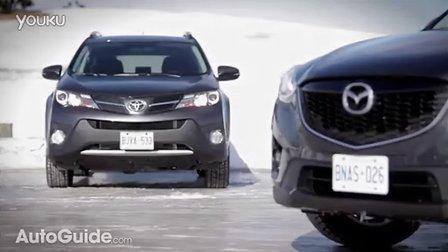 2014 Mazda CX-5 vs  2013 Toyota RAV4 Comparison