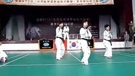【侯韧杰  TKD  教学篇】之   风采国家队