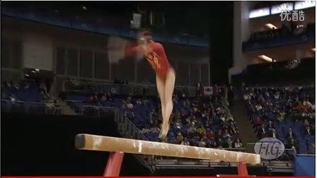 眭禄2012年伦敦奥运会体操场馆测试赛平衡木决赛