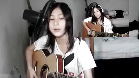 YUI cover Rolling star guitar TheMijungJM