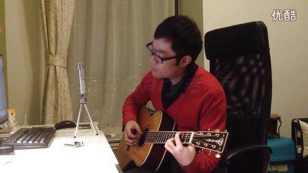 李霖Gary老师吉它弹唱 - 《白月光》- 张信哲