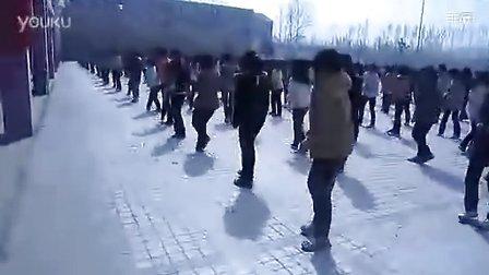 河南省郸城县一高东校区课间操最炫民族风