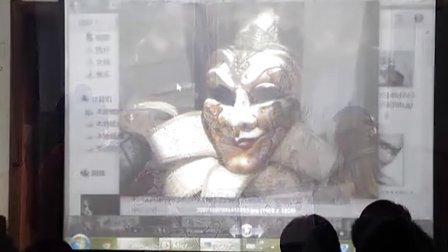 哈尔滨创客空间自绘脸谱工作坊