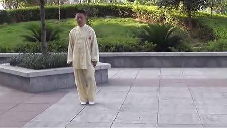 涟源市人民公园太极表演