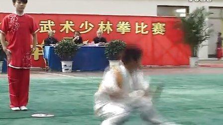 2012年全国武术少林拳比赛 男子少林规定拳 006 陈旭(登封小龙武院)