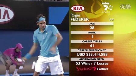 2010 澳网决赛 费德勒vs穆雷