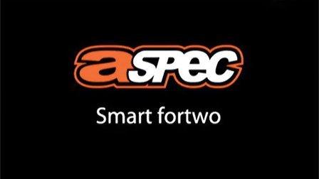 Smart fortwo改A Spec排气和碳纤后唇