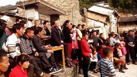 2014年春节黄山市徽州区碣石村春节联欢表演