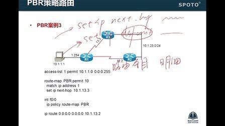 SPOTO CCNP路由 14 路径控制2 PBR案例及路由策略综合实验