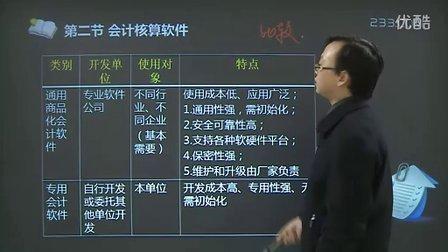 2013年会计从业资格--初级电算化 试听