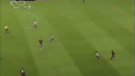 2008年9月22日 西甲第3轮 希洪竞技vs巴塞罗那 上半场 武汉体育 国语