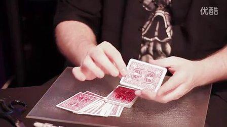 迪龙魔术2011刀叉穿刺找牌教学Card Stab THREEK by Bizzaro(无密码)