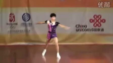 2008全国健美操锦标赛新人组男子单人组(唐元旭)