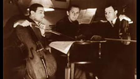霍洛维茨,艾萨克,罗斯特罗波维奇 柴可夫斯基A小调三重奏op50