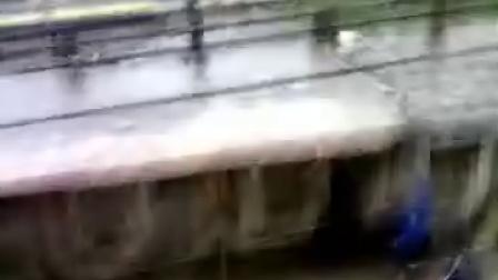 陕西省靖边县的大雨