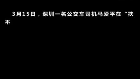 深圳公交司机扶摔倒老人,反被索赔,警察监控视频还原真相!