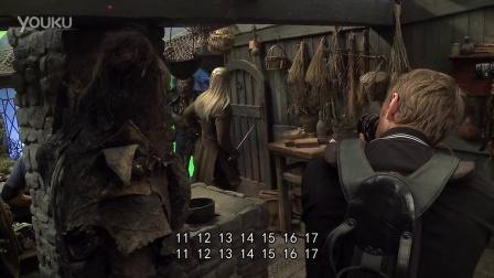 霍比特人2花絮Orlando Bloom部分(中文字幕)