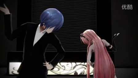 【KAITO】Pusse cafe【巡音ルカ】【MMD】