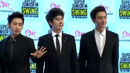 140322 Super Junior-M 《SWING》新专发布会