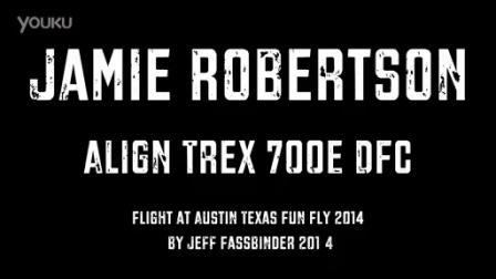 Jamie Robertson Align Trex 700E DFC Austin Texas 2014